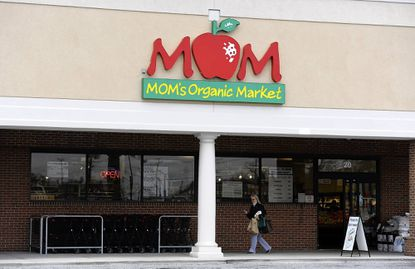 Mom's Organic Market is pictured in Timonium Monday, March 18. The 10-store chain might be ading an 11th store in the Rotunda, if the mall owner Hekemian & Co. approves.
