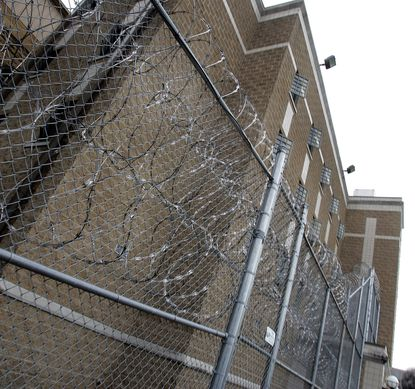 Menard Prison in Chester, Illinois where there is a nascent campaign to change Illinois law to allow parole for juveniles sentenced to life in prison without parole. (Chicago Tribune photo by John Smierciak)