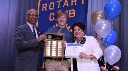 Hunt Valley Rotary Club promotes truth, fairness, goodwill among students