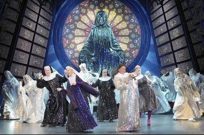 """A scene from the national tour of the musical """"Sister Act."""""""