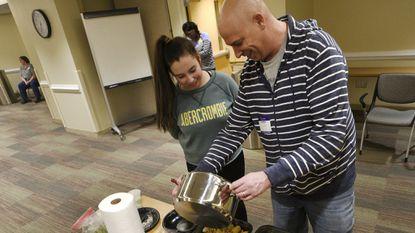 Carroll Hospital teaches cooking through wellness at monthly class
