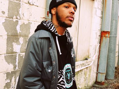 Local rapper Black Zheep opens for Open Mike Eagle at Metro Gallery on Oct. 16.