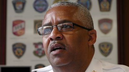 Chief Stanley Brandford, a high-ranking Baltimore Police commander, plans to challenge current Sheriff John Anderson in the Democratic primary in June.