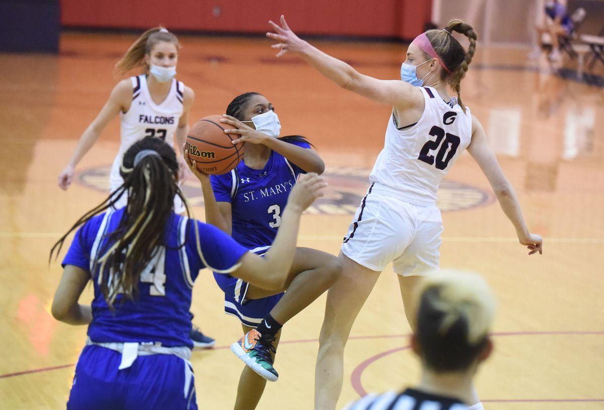 St. Mary's vs. Gerstell girls basketball