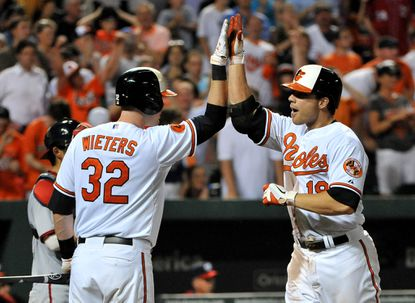 Orioles agree to terms with Chris Davis, Tommy Hunter, Brian Matusz and Troy Patton