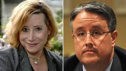 Gender Rights Maryland executive director Dana Beyer, left, is challenging incumbent state Sen. Rich Madaleno in the 2014 primary.