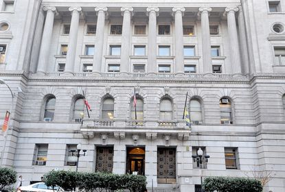 The Clarence M. Mitchell Courthouse on Calvert Street in downtown Baltimore where lawyers, corrections officers, judges, clerks, criminals and ordinary people mix, work and sometimes forge lasting friendships.