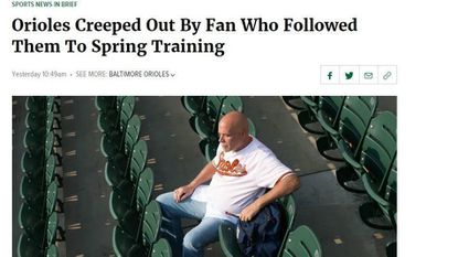 The Orioles -- and Baltimore -- are not immune to The Onion's barbs.