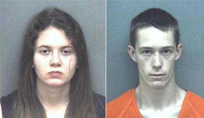 On the right, David Eisenhauer is charged with kidnapping and first-degree murder in the January 2016 stabbing death of Virginia seventh-grader Nicole Lovell. Natalie Keepers, left, is charged with being an accessory.