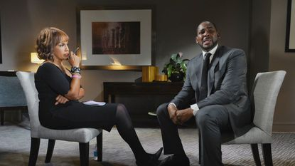 """""""CBS This Morning"""" co-host Gayle King interviewed R. Kelly for more than an hour in Chicago on Tuesday."""