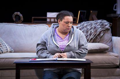 "Deborah Nansteel in the premiere production of ""Penny"""