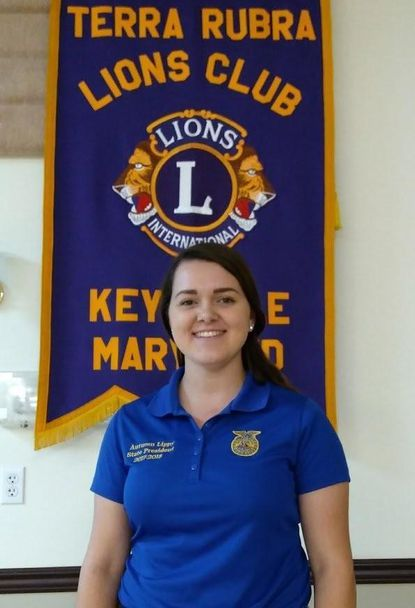 Lions welcome state FFA president