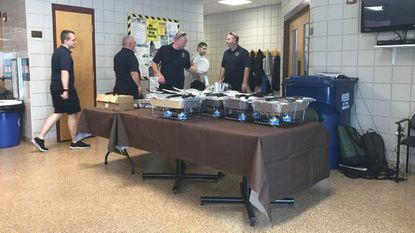 Local Olive Garden provides meal to Westminster first responders in nationwide Labor Day celebration