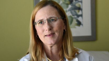Dr. Dona Hobart, medical director of the Center for Breast Health at Carroll Hospital, has performed about 20 surgeries since the start of 2018 using LOCalizer, a system that uses radio frequency identification tags to locate small tumors within breast tissue.