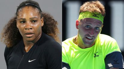 Serena Williams says rising star Tennys Sandgren owes an apology to an 'entire group of people'