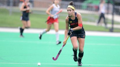 University of Maryland's Linnea Gonzales, a senior captain of the Big Ten champion Maryland field hockey team, was named the Regional Player of the Year last week by the National Field Hockey Coaches Association.