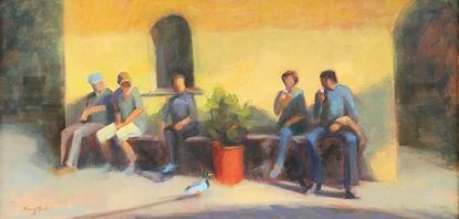 Artist Jane Knighton simply shows the world as she sees it at Ellicott City gallery