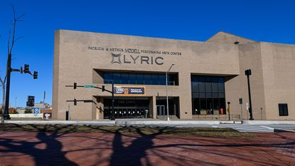 Exterior of the Modell Performing Arts Center at The Lyric on Tuesday, March 2, 2021.