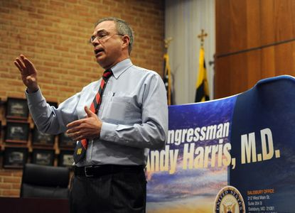 Rep. Andy Harris speaks in a file photo.