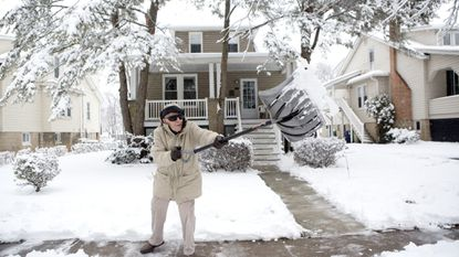 In Baltimore and the surrounding counties, you only have a limited amount of time to shovel your sidewalk before you may be fined.