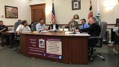 Mount Airy Council votes to rezone property industrial