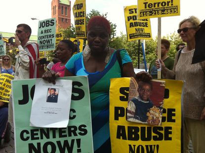 Few of Baltimore police shooting victims this year were armed