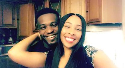 Prince Gbohoutou, shown with wife Shaniece Gbohoutou was detained by ICE and nearly deported to the Central African Republic, where he said his mother was killed.