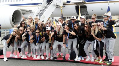 Women's World Cup champs should celebrate as hard as they want