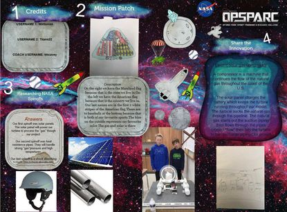 Westminster Elementary School students received second-place for their entry in the national 2018 NASA Optimus Prime Spinoff Promotion and Research Challenge. - Original Credit: Courtesy Photo