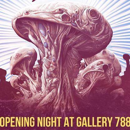 Sunday: Mushroom City Art Festival