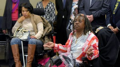 In 2016, Baltimore Neighborhoods Inc.'s efforts to force Baltimore County to alter its housing policies paid off in a $30 million deal with federal regulators to halt discrimination. Rhonda Myers (l) was a complainant. Valerie Smith (r) was an advocate for disabled renters.