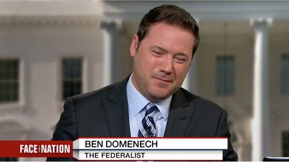 "Ben Domenech of the Federalist makes an unverifiable claim about Ohio's disabled on CBS' ""Face the Nation."""