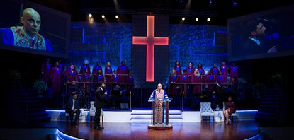 """Raising Hell: """"The Christians"""" and """"Sally McCoy""""—two plays about the good, evil, and people at odds to see now"""