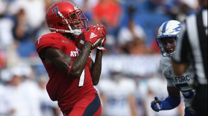 FAU receiver Jovon Durante becomes Owls' first player to declare early for NFL draft
