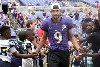 quality design f5202 9e12f Ravens kicker Justin Tucker cleared from concussion protocol ...