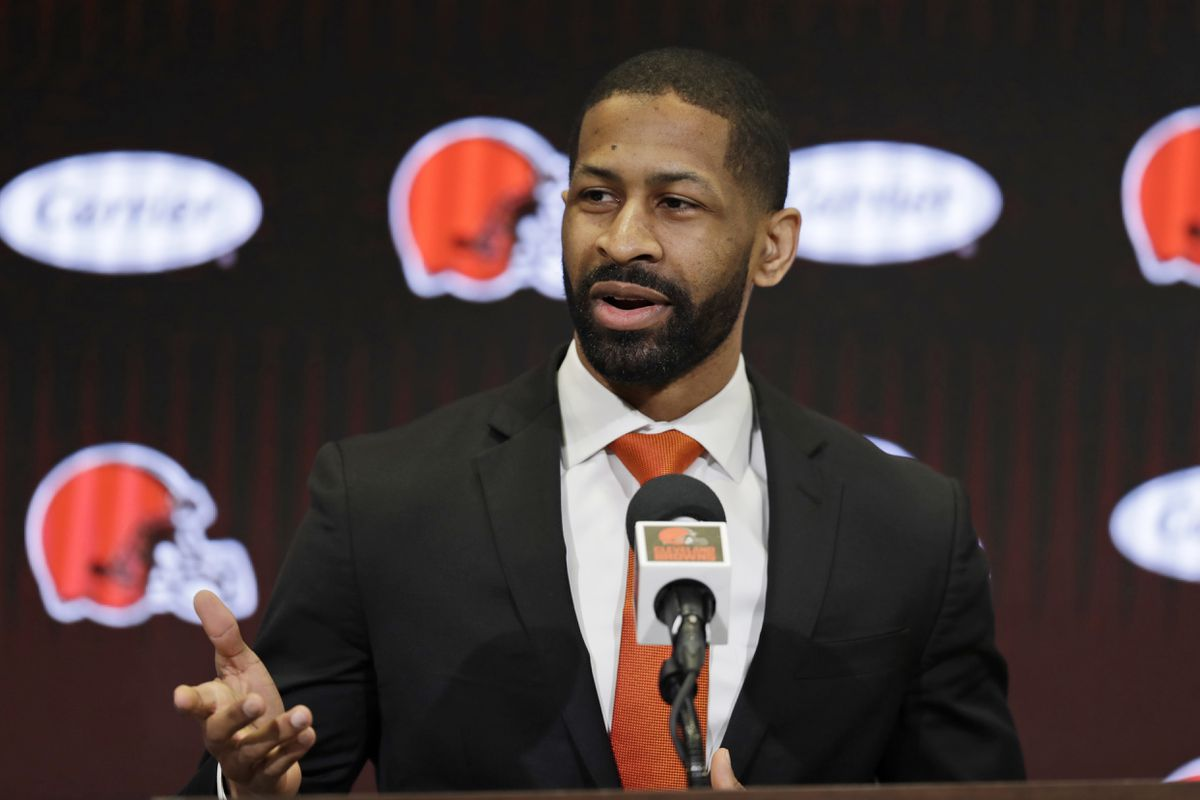 Image of article 'For Browns GM Andrew Berry, path to NFL started in Bel Air — and nearly ended on Wall Street'