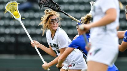 Glenelg Country's Kate Sites, shown in a game earlier this season, scored four goals to help the Dragons upend third-ranked Notre Dame Prep on Tuesday.
