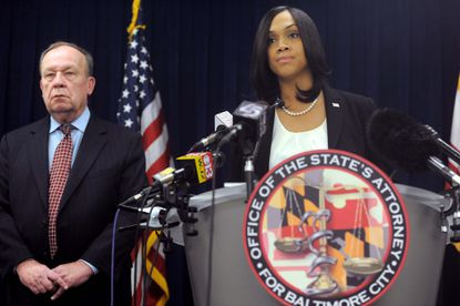 Marilyn Mosby, Baltimore State's Attorney.