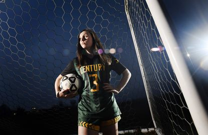 Century sophomore Haley Greenwade is the 2019 Carroll County Times Girls Soccer Player of the Year.
