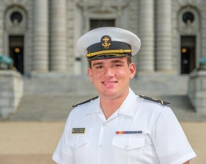 Naval Academy Midshipman Duke Carrillo collapsed while running the 1.5 mile physical readiness test Saturday. He was transported to Anne Arundel Medical Center, where he was pronounced dead.