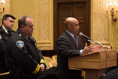 """Commissioner Batts: """"I think I'm going to answer your question in a different way."""""""