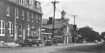Photo courtesy of Nancy Eyler. Taneytown is pictured in the 1940s.