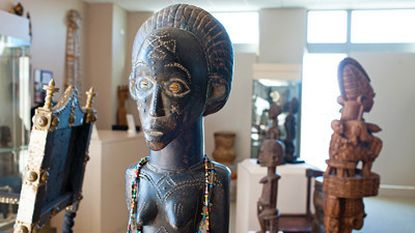 This figure from the Tchokwe people of Tanzania embodies the knowledge of their ancestors.