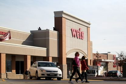 Towson, MD -- The Weis Market in Towson Marketplace Shopping Center.
