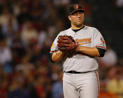 Orioles setup man Tommy Hunter is an option to replace Jim Johnson at closer, but there are concerns about his long-term prospects at the position.