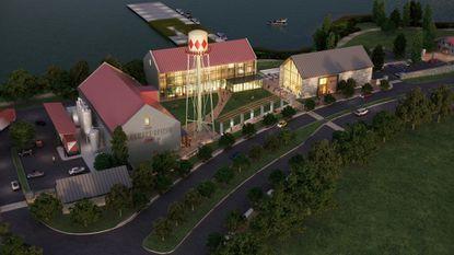 Sagamore Development presents designs for Port Covington distillery
