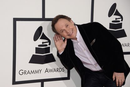Actor Billy Crystal, here at this year's Grammy Awards, will soon play a version of himself on a new FX comedy.