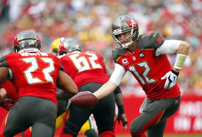 The Tampa Bay Buccaneers released quarterback Josh McCown on Wednesday.