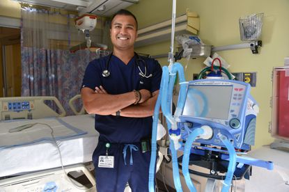 Roel Ocampo is a respiratory care practitioner, Greater Baltimore Medical Center.