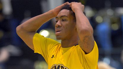 UMBC's Rodney Elliott is out indefinitely with a shoulder injury.